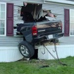 car-accident-pickup-truck-smashed-into-house