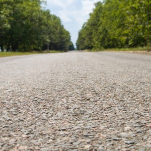 image of asphalt from near distance