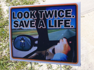 think twice safe a life